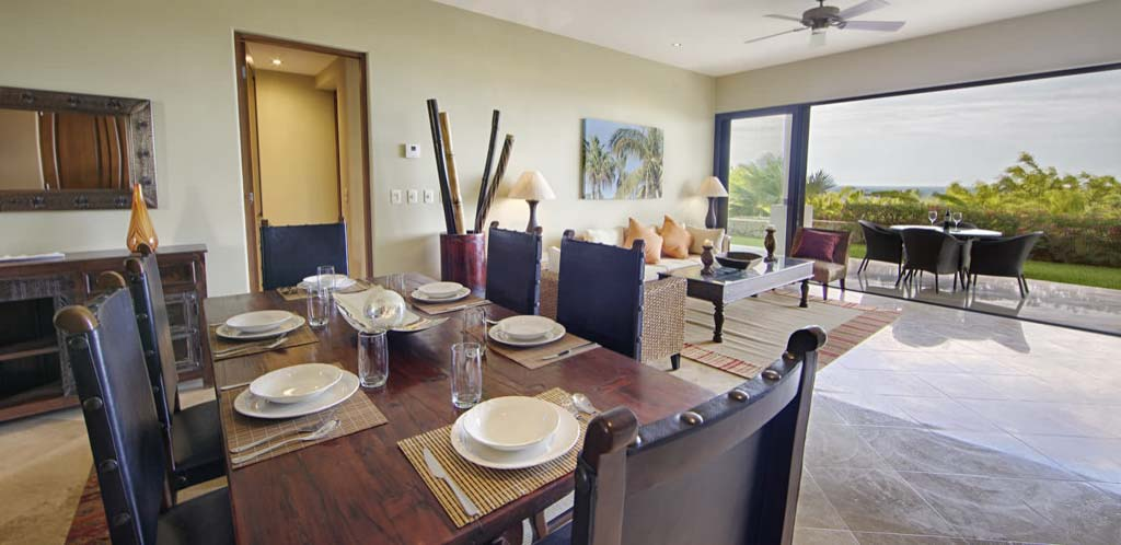 Alegranza San Jose Del Cabo   2 Bedroom Dining Area