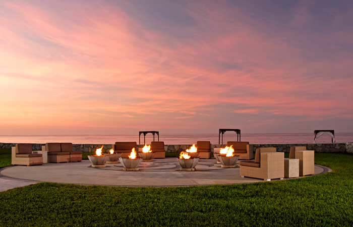 Pueblo Bonito Pacifica Golf & Spa Resort   Firepit & Ice Martini Bar