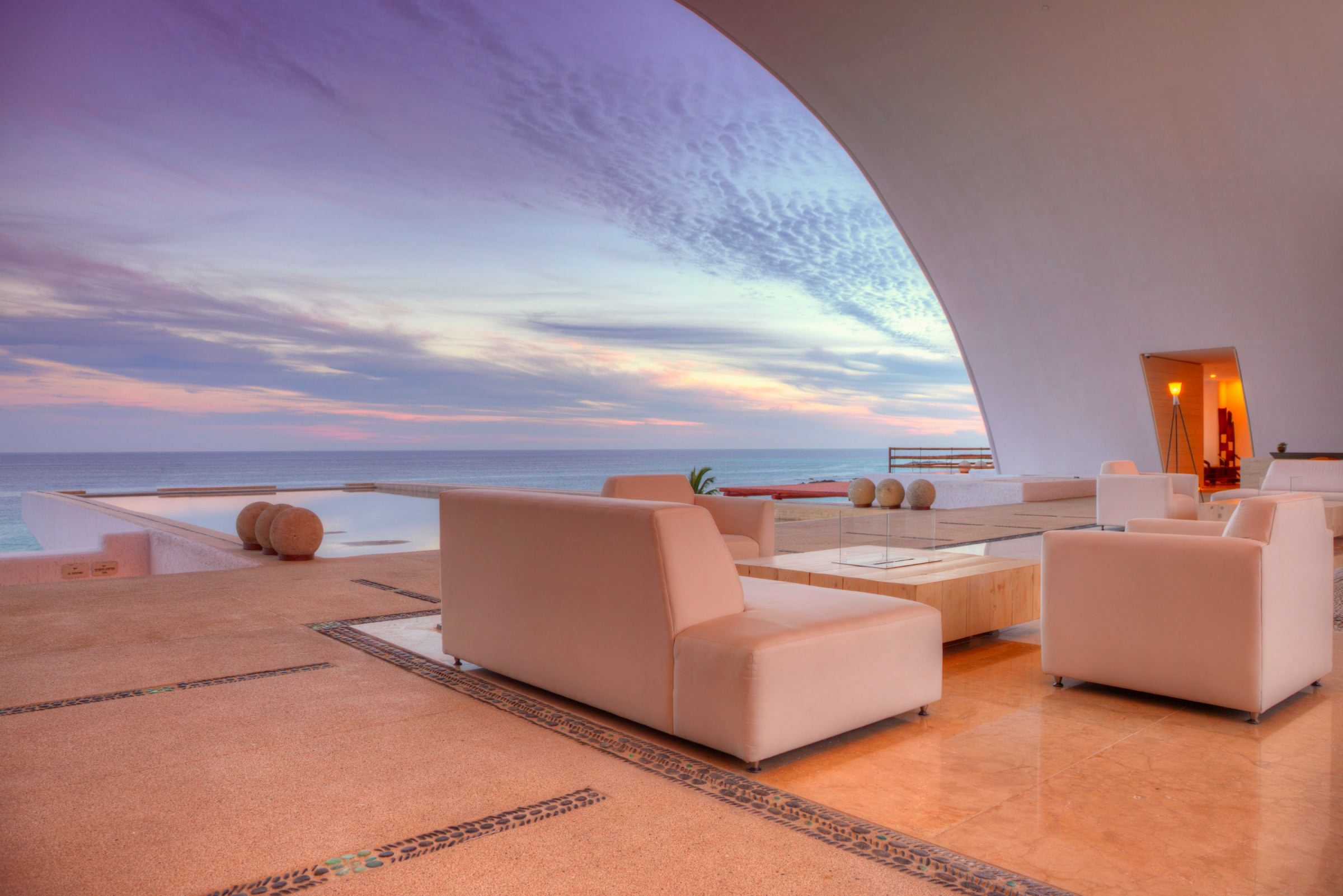 Gallery   Marquis Los Cabos Resort & Spa   Sunset Lobby