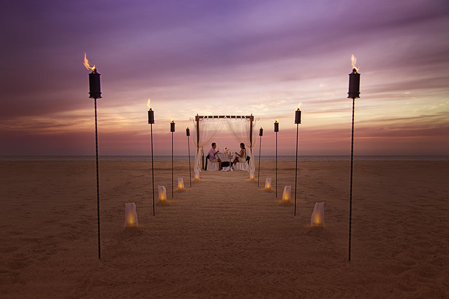 Gallery   Marquis Los Cabos Resort & Spa   Romantic Dinner On The Beach