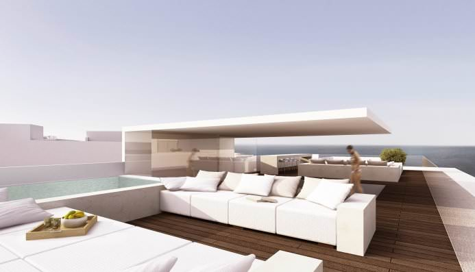 Gallery   Hotel Mar Adentro   Roof Lounge