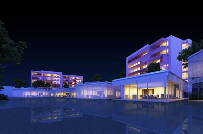 Gallery   Hotel Mar Adentro   Night Lights